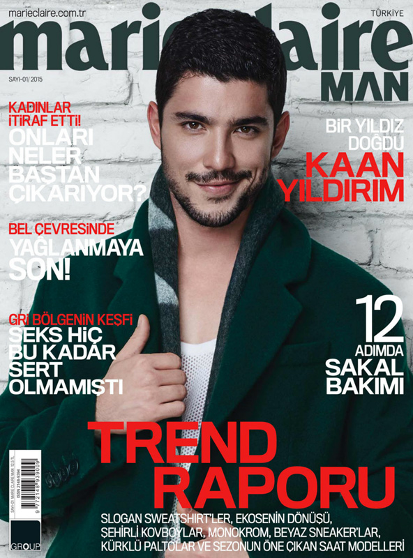 MARIE CLAIRE MAN